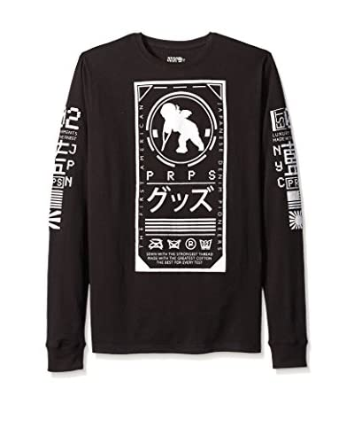 PRPS Goods & Co. Men's Japan Graphic Long Sleeve Tee