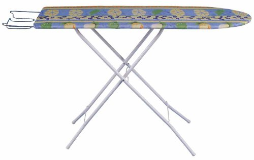 LIGHTWEIGHT TOP QUALITY IRONING BOARD AND COVER EASY FOLDING CONPACT DESIGN