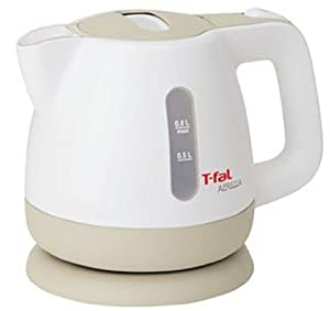 T-fal 電気ケトル アプレシア カフェオレ 0.8L BF802022A