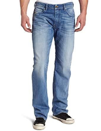 Jeans Diesel Larkee Relaxed stretch bleu homme confort straight 008W7