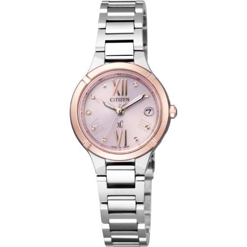 [シチズン]CITIZEN 腕時計 xC クロスシー TITANIA LINE MINISOL Eco-Drive エコ・ドライブ 電波時計 マスコミモデル 【北川景子広告着用モデル】 ES8084-59W レディース