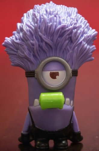 Mcdonald's Happy Meal, Despicable Me 2 Toy, Purple Minion Noisemaker