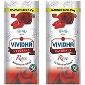 Ullas Vividha Rose Incense Sticks, 350Gm, Set 2 Pouch