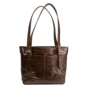 Ramalama of Australia - Leather Diaper Bag - AVA / Chocolate