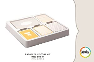 Project Life Core Kit - Baby Edition