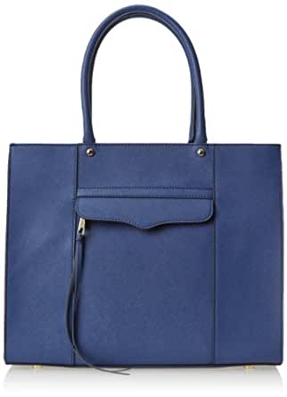 Rebecca Minkoff Medium MAB Tote Bag,Navy,One Size