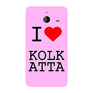 Skin4gadgets I love Kolkata Colour - Light Pink Phone Skin for LUMIA 640 XL