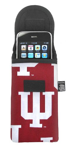 Indiana University Phone Case Glasses Holder IU Logo Fits APPLE IPHONE TOUCH Samsung LG Nokia and more