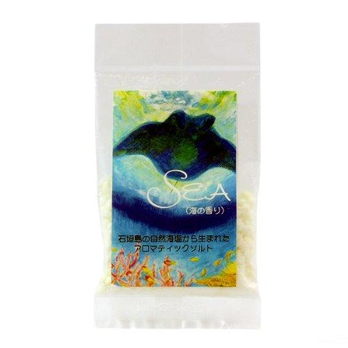 石垣島の自然海塩から生まれた アロマティックバスソルト SEA 30g