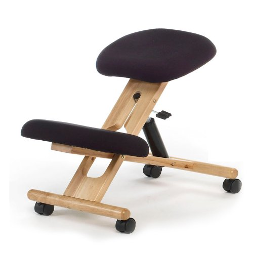 chaisedebureau si ge ergonomique ergochair noir bois naturel meilleures offres pour. Black Bedroom Furniture Sets. Home Design Ideas