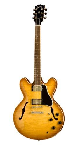 gibson custom es 335 dot electric guitar light burst figured maple discount guitars for sale. Black Bedroom Furniture Sets. Home Design Ideas