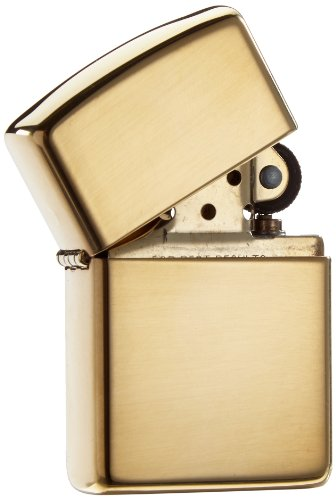 Find Cheap Zippo Armor High Polish Brass Lighter