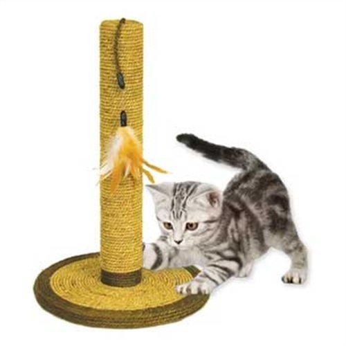 Ware Manufacturing Natural Seagrass Cat Scratch Post, 21-Inch (Ware Seagrass compare prices)