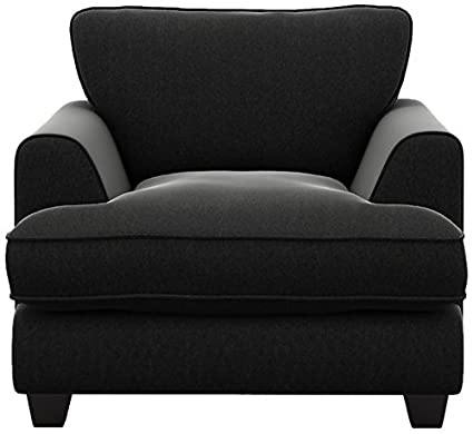 Cavendish Upholstery Chair, Fabric, Black