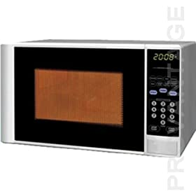 Haier MWM0701TW 700 Watt Countertop Microwave, White