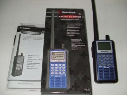 RadioShack Hand Held Racing Scanner Pro-137 20-137 Radio Shack