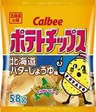カルビー ポテトチップス 北海道バターしょうゆ味