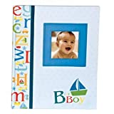 C.R. Gibson B is for Boy Keepsake Memory Book of Baby's First Year Baby, NewBorn, Children, Kid, Infant