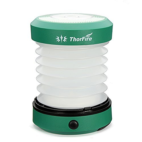 ThorFire-Camping-LED-Lantern-Mini-Flashlight-Torch-Light-Lamp-Collapsible-Hiking-Jogging-USB-Rechargeable-Hand-Crank-or-Powered-By-AA-Batteries
