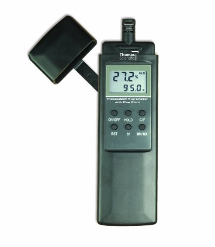 Thomas Traceable Pocket Dew Point/Hygrometer/Thermometer, -4 to 122 degree F - 1