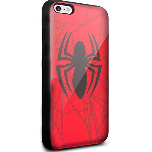 Spiderman Movie Cool Logo for Iphone and Samsung Galaxy (iphone 6 / 6s black)
