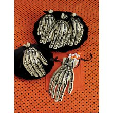 Martha Stewart Crafts Skeleton Hand Cello Treat Bags