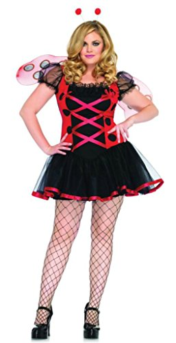 Leg Avenue Womens Lovely Lady Bug Fairytale Outfit Fancy Dress Sexy Costume