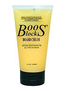 John Boos Butcher Block Board Cream, 5 oz, Cream
