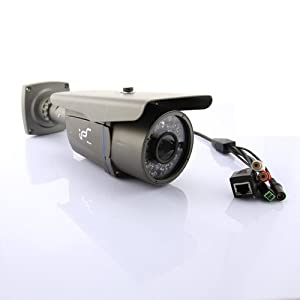 H.264 Wired ip camera HD 2.0MP Dual Audio NightVision CMOS 4mm Lens 131ft IR view