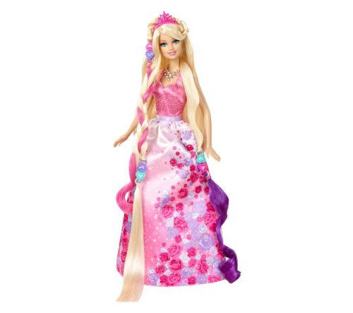MATTEL Barbie Princesse chevelure