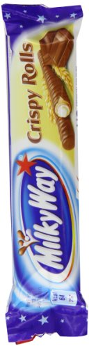 Milky Way Crispy Rolls 25 g (Pack of 24)