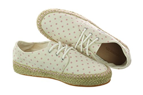 pictures of Lacoste Women's Agour 4 Off White Pink 9 M