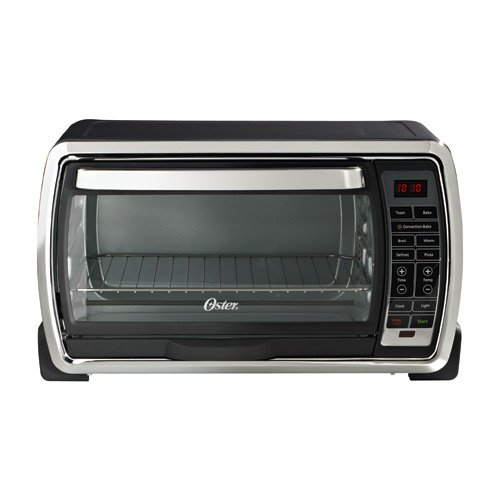 Oster Large Countertop Convection Oven Black : Oster TSSTTVMNDG Digital Large Capacity Toaster Oven, Black/Polished ...