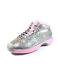 Adidas Men's Crazy 1 John Wall Silver/Pink Basketball Shoes C76100
