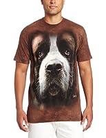 Saint Bernard Dog Adult T-Shirt The Mountain