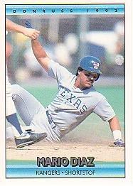 1992 Donruss #149 Mario Diaz