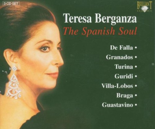 The Spanish Soul - Teresa Berganza - CD