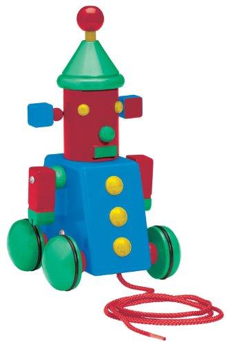 Basic Fun David Kirk Space Robot Pull Toy - 1