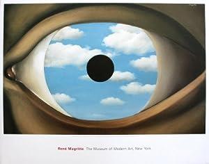 Rene magritte le faux miroir impression d 39 art print 83 for Rene magritte le faux miroir