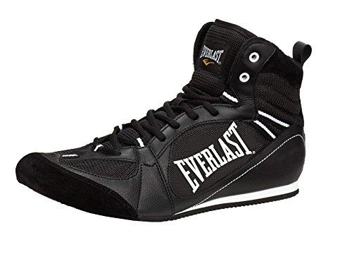 Everlast 8002 basse-Stivali da boxe, unisex, colore: nero, Unisex, Boxartikel 8002 Lo Top Boxing Boot, nero