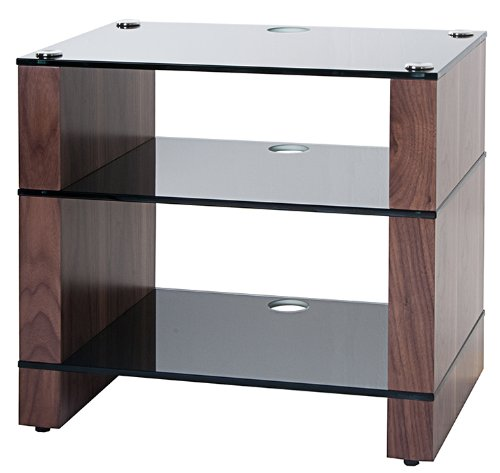 Cheap BLOK STAX DeLuxe 300 Three Shelf Walnut Hifi Audio Stand & AV TV Furniture Rack Unit (B003AKC51E)