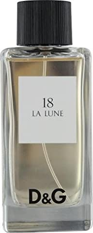 D & G 18 La Lune By Dolce & Gabbana For Women. Eau De Toilette Spray 3.3 Oz / 100 Ml