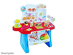 Smart Picks battery operated Kids Mini Market with lights and sound.