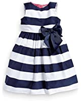 Zhuannian Baby Girls Casual Stripes Sleeveless Dresses