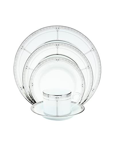 Noritake Palmer Platinum 20-Piece Dinnerware Set, Service for Four
