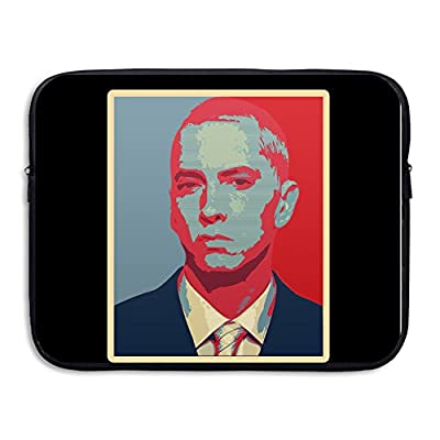 XJBD Rap King Eminem Anti-shock Tablet Carrying Bag Case 13-15 Inch