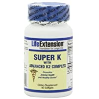 Life Extension Super K with Advanced K2 Complex Softgels, 90-Count