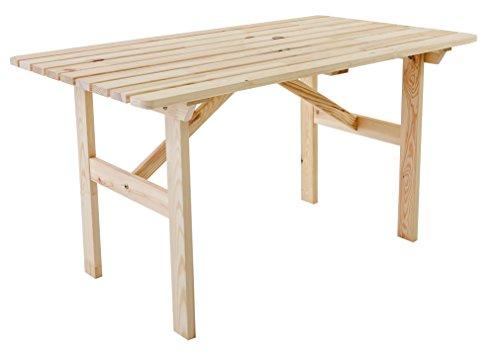 Ambientehome-Gartentisch-Tisch-Massivholz-Esstisch-HANKO-Natur
