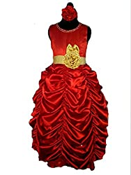 Forever Kidz Red Belle Princess Wedding Gown-ama007-6