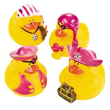4 Girl Pirate Ducks front-877382